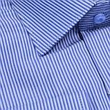 Сорочка чоловіча, прямого покрою з довгим рукавом Birindelli 03-125 80% бавовна 20% поліестер M(Р), фото 2