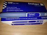 Инсулин Эпайдра Солостар 100 ЕД/мл шприц-ручка 3 мл
