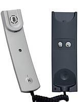 Пристрій квартирний переговорний УКП-12М /Ціна з ПДВ/сріблястий колір