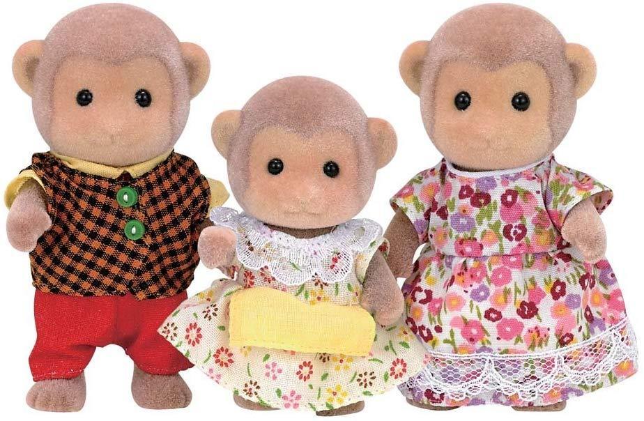 Сім'я мавпочок Сильваниан фемелі Calico Critters Mango Monkey Family