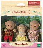 Сім'я мавпочок Сильваниан фемелі Calico Critters Mango Monkey Family, фото 2