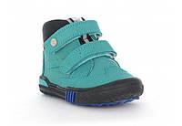 Ботинки для мальчика демисезонные (21-26)р (Бартек)Bartek Польша бирюзовый W-021704-6/V01