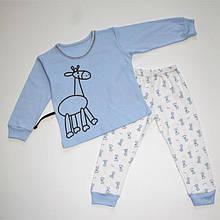 Піжама інтерлок з малюнком для хлопчика 92-116
