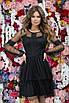 Платье вечернее красивое длинный рукав гипюр+подкладка 42,44,46, фото 4