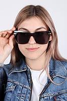 Крупные квадратные женские очки