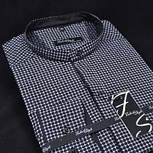 Сорочка чоловіча, приталена (Slim Fit), з довгим рукавом Fabrik Style 1811-00280 100% бавовна L(Р)