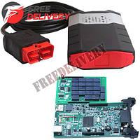 Delphi DS150E V3.0 3в1 OBD2 + Bluetooth сканер диагностики авто