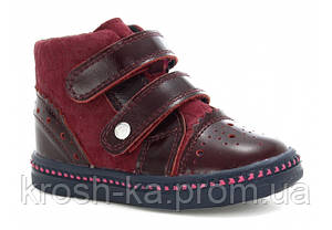 Ботинки для девочки демисезонные (21-26)р (Бартек)Bartek Польша бородовый W-91764-2P/0SD