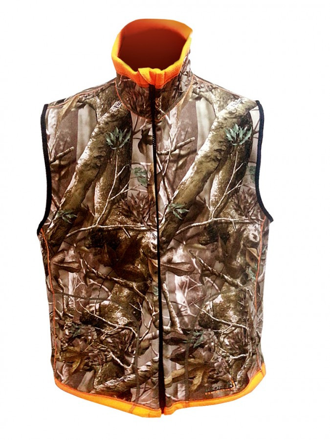Жилет двусторонний Norfin Huntingh Reversable Vest Passion Orange XL