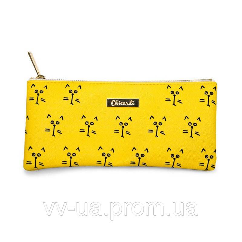 Косметичка-пенал Сhicardi Cats (Yellow) (A002506)