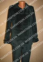 Пижама женская теплая, махровая с длинным рукавом р. 42-62