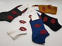 Шкарпетки жіночі короткі з люрексом (23-25 р) купити оптом від складу 7 км