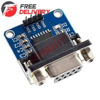 RS232 - TTL конвертер плата Max232 модуль atmega16