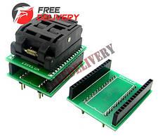 TQFP32 QFP32 LQFP32 - DIP28 DIP32 переходник панелька