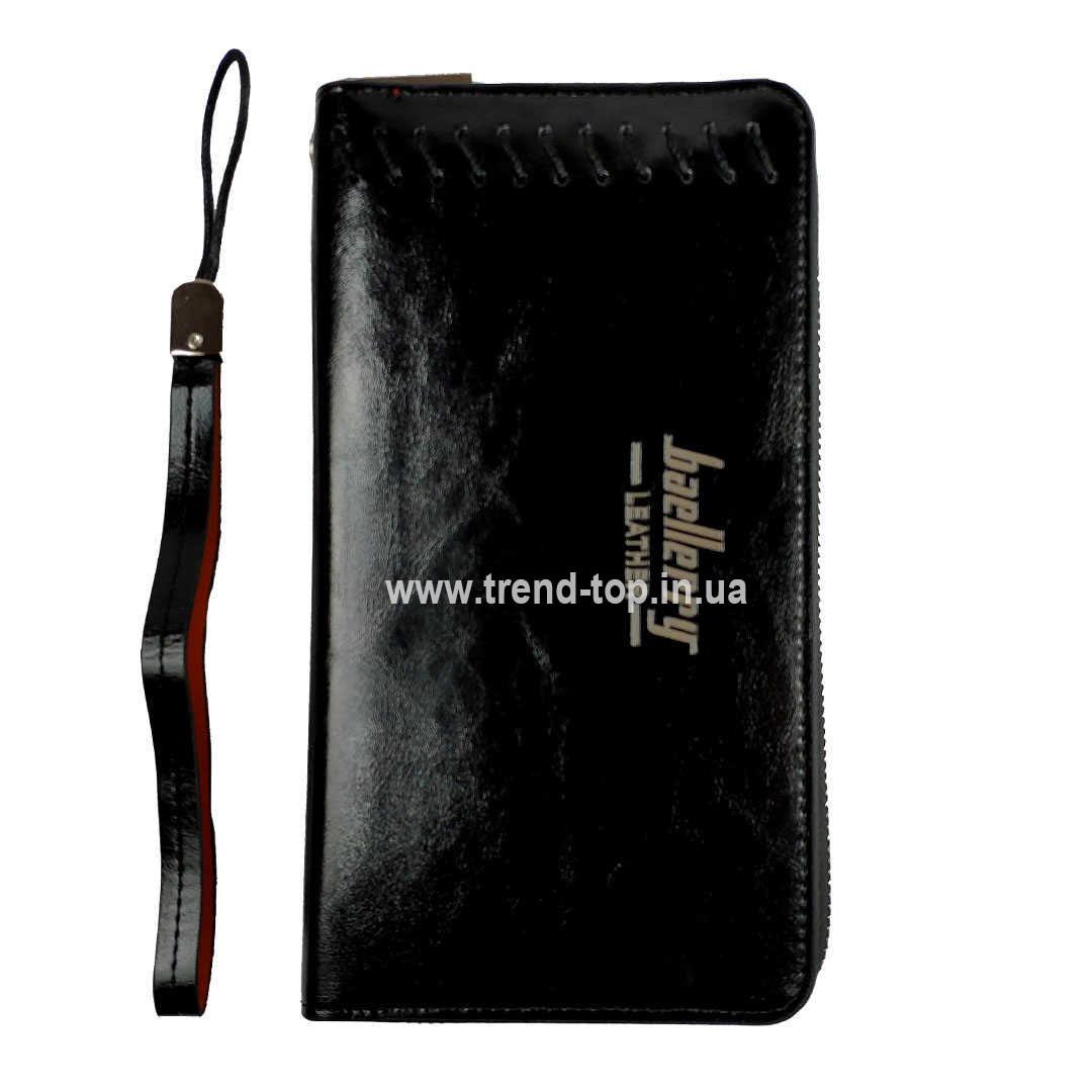 Кошелек Мужской Baellerry Leather Чёрный