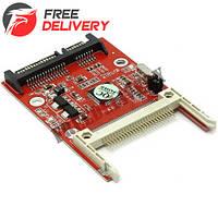 Переходник Compact Flash CF - SATA, контроллер