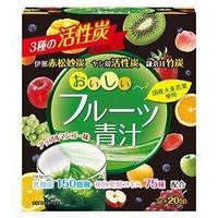 Yuwa фруктовый аодзиру с активированным углем, энзимами и молочнокислыми бактериями.