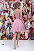 Вечернее платье с гипюровой вставкой и пайетками 42, 44, 46, фото 5