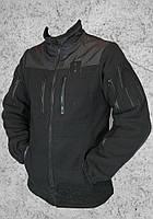 Кофта флис Полиция (черная)