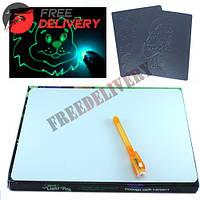 Набор для рисования в темноте Рисуй светом Neon Light Pen
