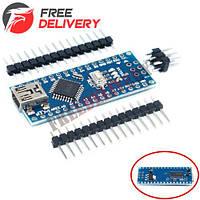 Arduino Nano V3.0 AVR ATmega328 P-20AU плата CH340