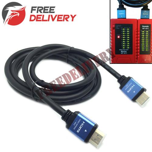 HDMI 2.0 кабель 1.8м Premium 4K 3D позолоченный