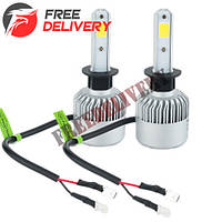 Лампы светодиодные автомобильные Partol S2 H1 P14.5S 12В 72Вт 8000лм
