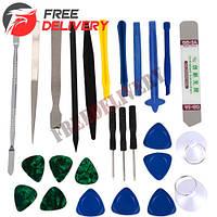 Набор инструментов для вскрытия корпусов разборки ремонта телефонов 26в1