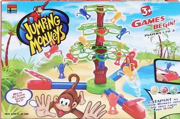 """Настольная игра """"Прыгающие обезьянки"""", фото 2"""