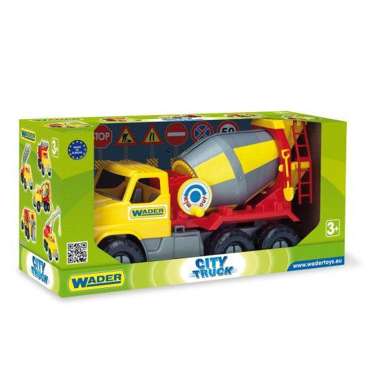 """Авто """"City Truck"""" бетоносмеситель в коробке Tigres"""