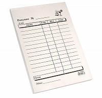 Счет официанта А6, 100л, газетка (Ромус)