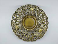 Антикварна бронзова тарілка