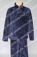 Пижама мужская теплая, махровая с длинным рукавом р. 46-62