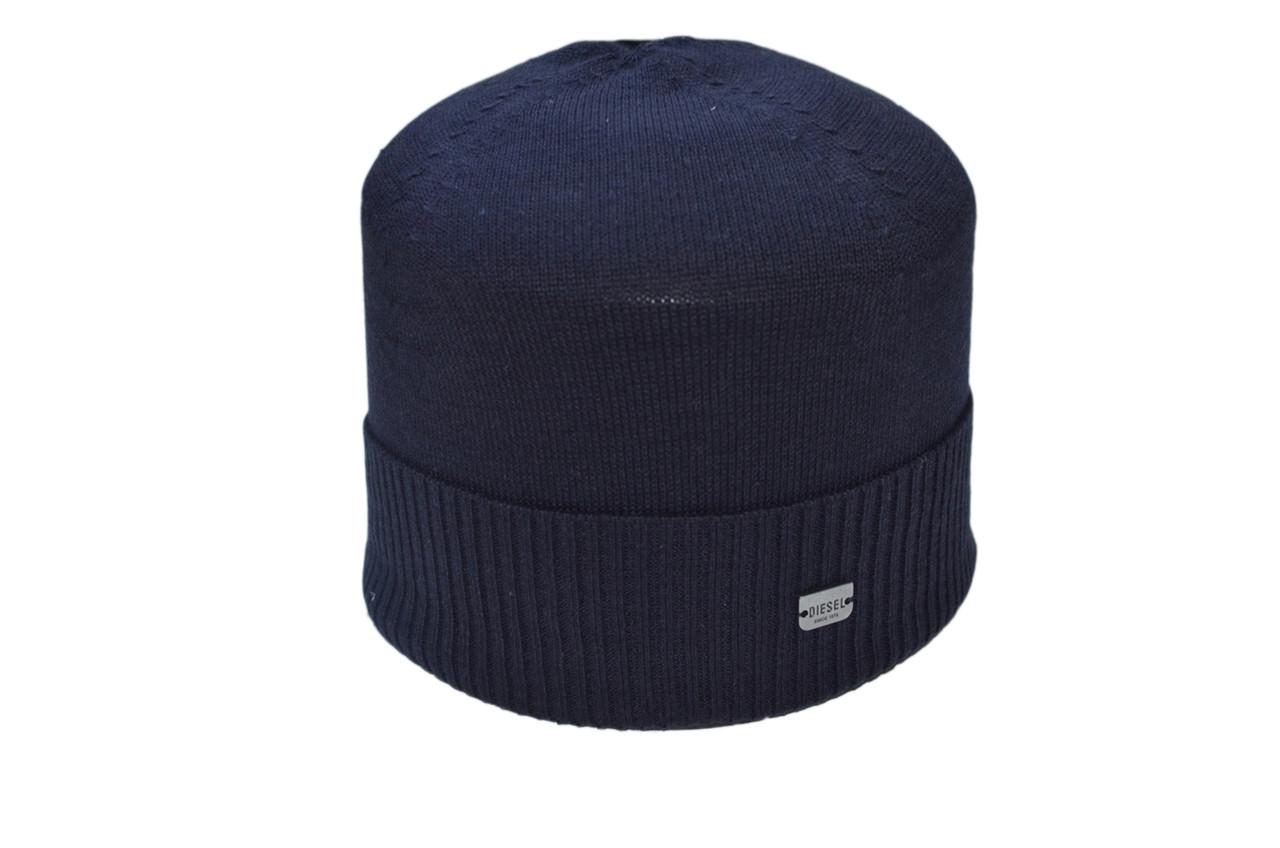 Шапка Caps Zone Diezel 55-59 см Темно-синий (40917-2)