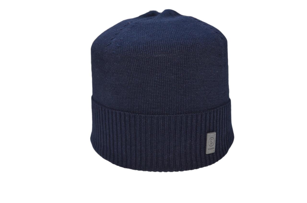 Шапка Caps Zone Bogner 55-59 см Темно-синий (40917-4)