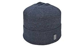 Шапка Caps Zone Bogner 55-59 см Темно-сірий меланж (40917-6)
