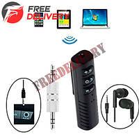 Bluetooth 4.1 аудио приемник AUX адаптер 3.5мм ресивер звука IBESI XT-2