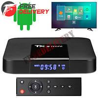 Медиаплеер Android Smart TV Box Amlogic S905W 2/16ГБ Tanix TX3 Mini A