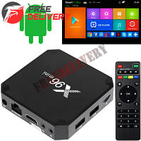Медиаплеер Android Smart TV Box Amlogic S905W 1/8ГБ X96 Mini