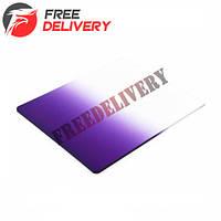 Светофильтр Cokin P фиолетовый градиент квадратный