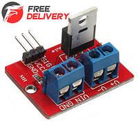 Драйвер MOSFET транзистор IRF520 0-24В модуль Arduino PIC ARM