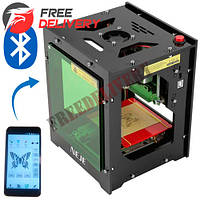 Лазерный гравер гравировальный станок Bluetooth Neje DK-BL 1500мВт