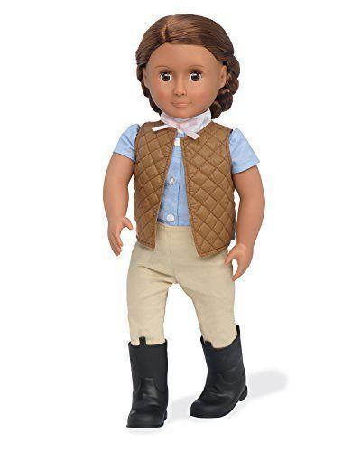 Легендарная большая кукла Катарина Любит верховую езду Catarina - La Nostra Generazione Doll