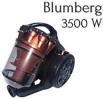 Пылесос вакуумный без мешка Blumberg 3500W.Пылесос контейнерный циклонического типа.