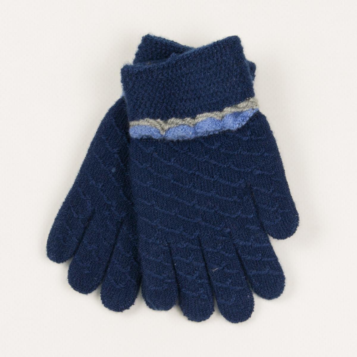 Перчатки для мальчиков на 2-3 года - 19-7-42 - Синий
