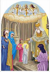 Вишивка бісером Введення Богородиці (іконостас)
