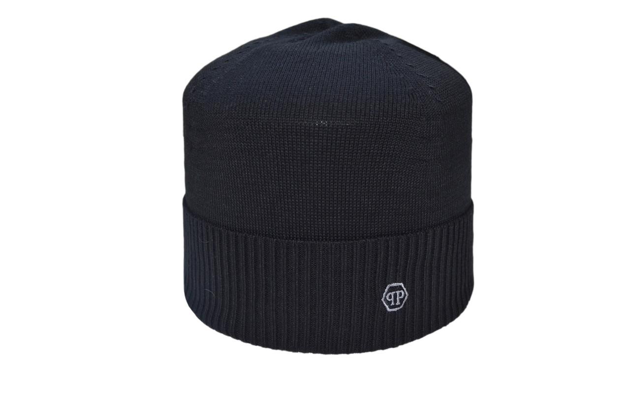 Шапка Caps Zone Philipp Plein 55-59 см Чёрный (40917-10)
