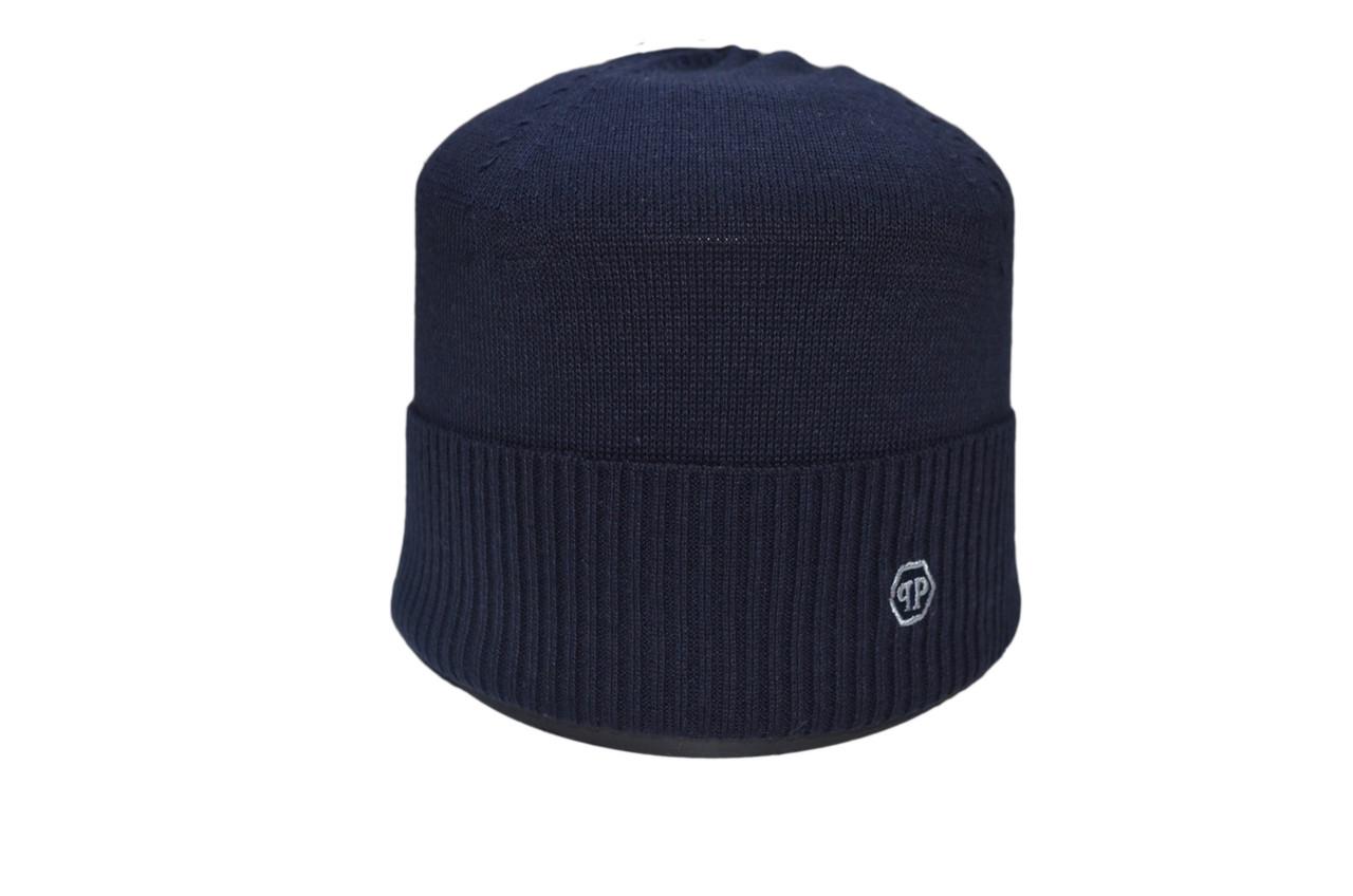 Шапка Caps Zone Philipp Plein 55-59 см Темно-синий (40917-11)
