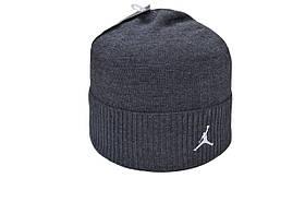Шапка Caps Zone Jordan 55-59 см Темно-сірий меланж (40917-14)
