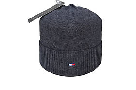 Шапка Caps Zone 55-59 см Темно-сірий меланж (40917-21)